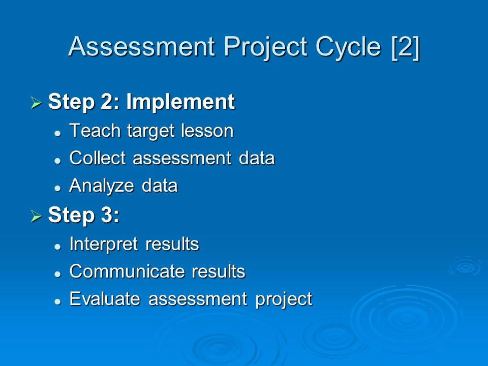 Assessment Project Cycle [2]
